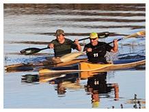 Canoeing in Oudtshoorn - De Zeekoe Guest Farm