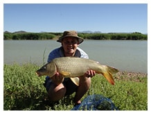 Fishing in Oudtshoorn - De Zeekoe Guest Farm