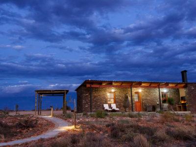 De Zeekoe Cottage Evening Views
