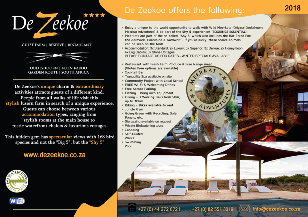 Dezeekoe - Fact Sheet