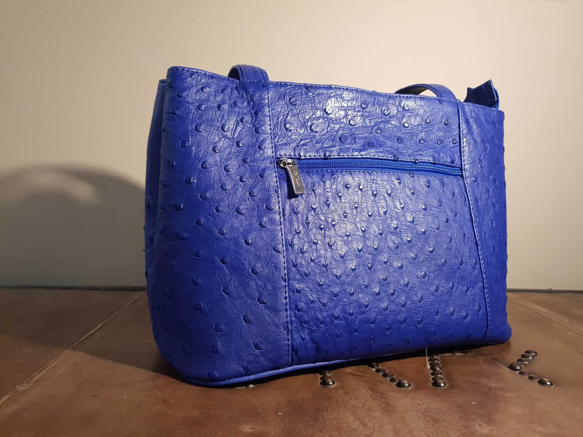 Blue Designer Handbag Karoo