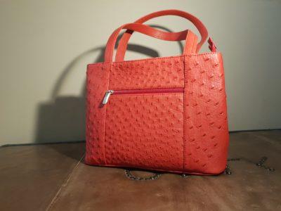 Red Designer Handbag Karoo