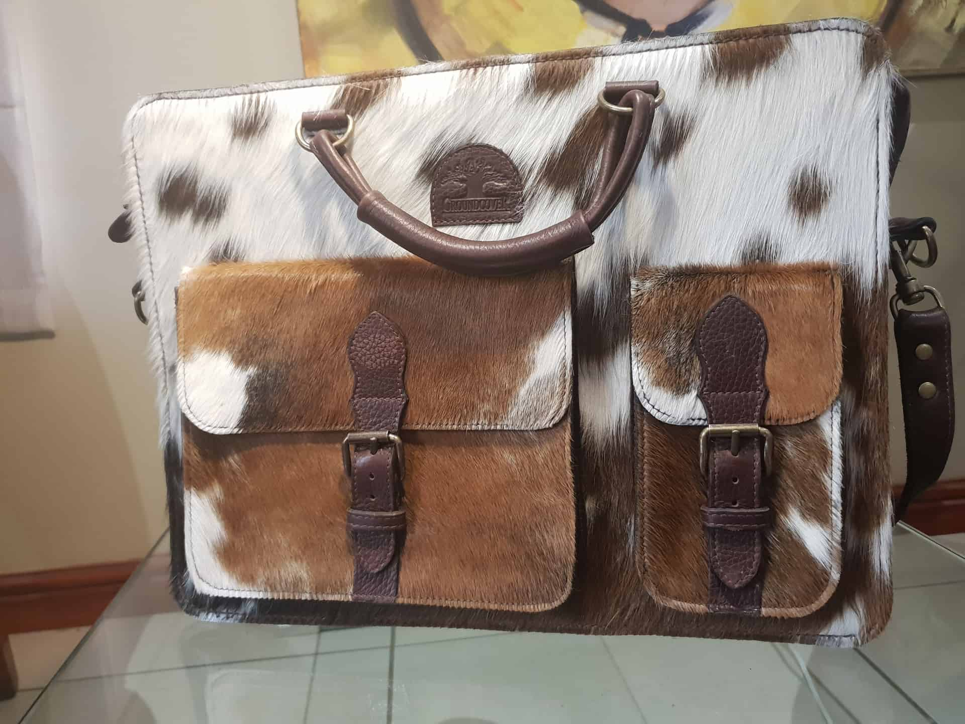 De Zeekoe Nguni Handbags