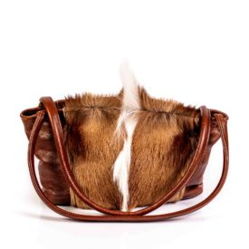 Leather hide handbags