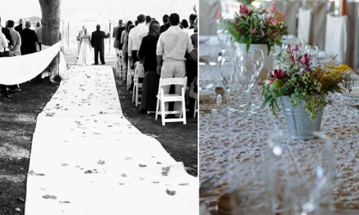 Oudtshoorn wedding ceremony and reception